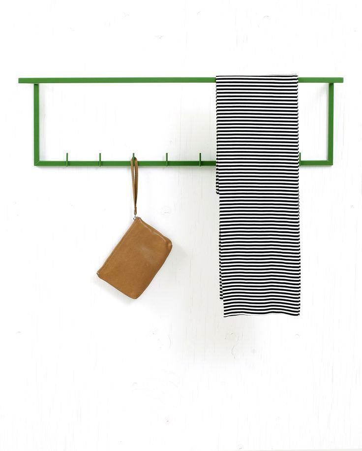 L1-900 may green leather handbag stripe scarf