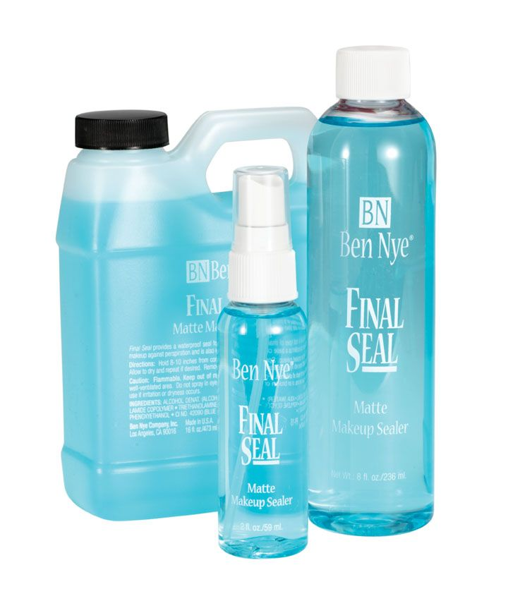 Ben Nye Final Seal Makeup Setter, According to Pinterest this stuff works wonders.