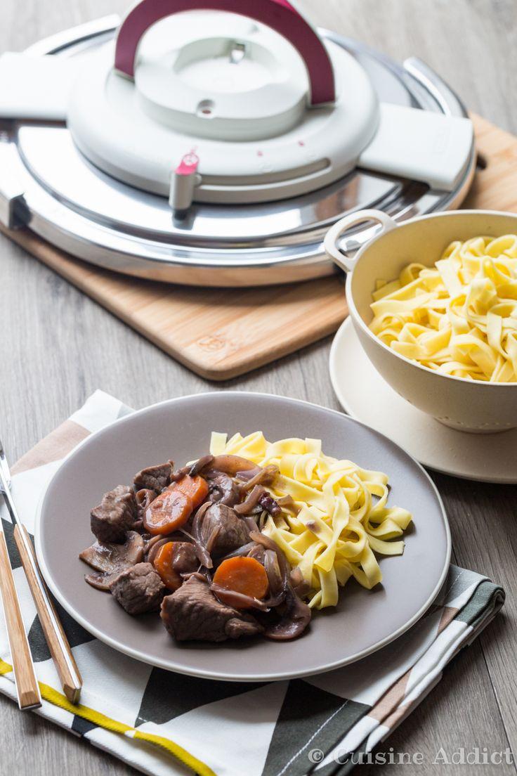 Les 10 meilleures images du tableau recettes nutricook sur pinterest recette de recettes - Boeuf bourguignon cocotte minute seb ...