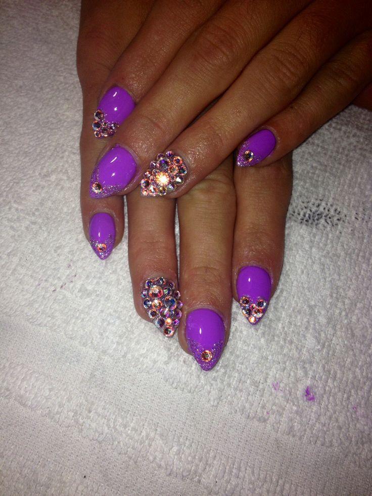 Love my new nails created by my nail tech. Nails, Nail