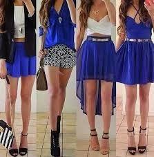 Resultado de imagen para moda vestidos juveniles 2014