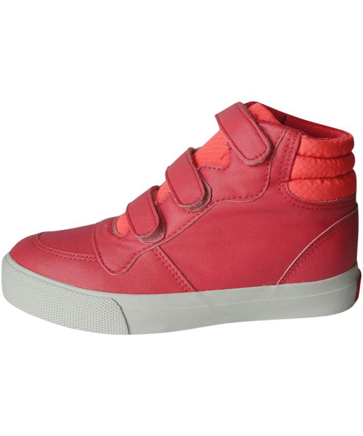 Name It super hippe roze sneakers met velcro sluiting. name-it.nl.emilea.be