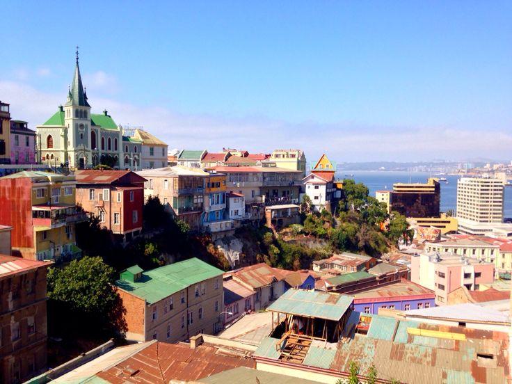 Valparaíso au Chili