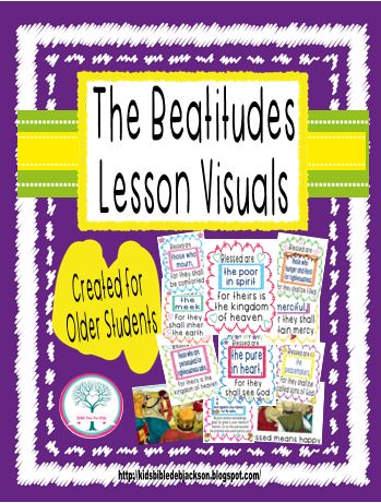 Beatitudes (Topic Index)- Kids Korner - BibleWise
