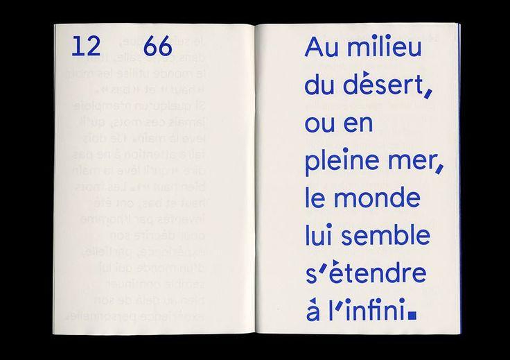 Carré Bleu / Text : Richard Buckminster Fuller / Design : Buildling Paris / 2014