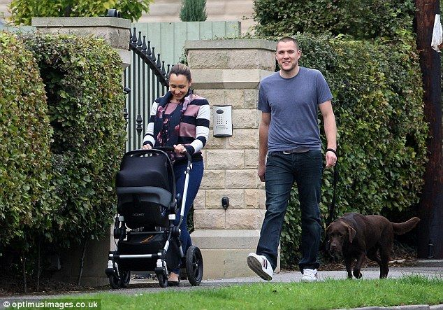 Finally: Jessica Ennis-Hill and her husband Andy Hill couldn't have looked happier as they...