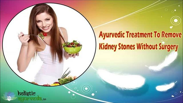 You can find more details about the ayurvedic treatment to remove kidney stones at http://www.holisticayurveda.in/product/herbal-kidney-stone-removal-treatment/  Dear friend, in this video we are going to discuss about the ayurvedic treatment to remove kidney stones. Kid Clear capsules provide the most effective ayurvedic treatment to remove kidney stones.