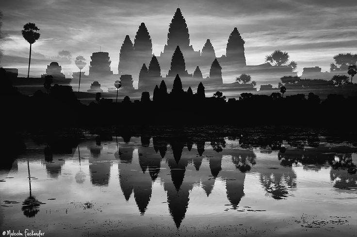 Angkor Wat by three by Malcolm Fackender on 500px