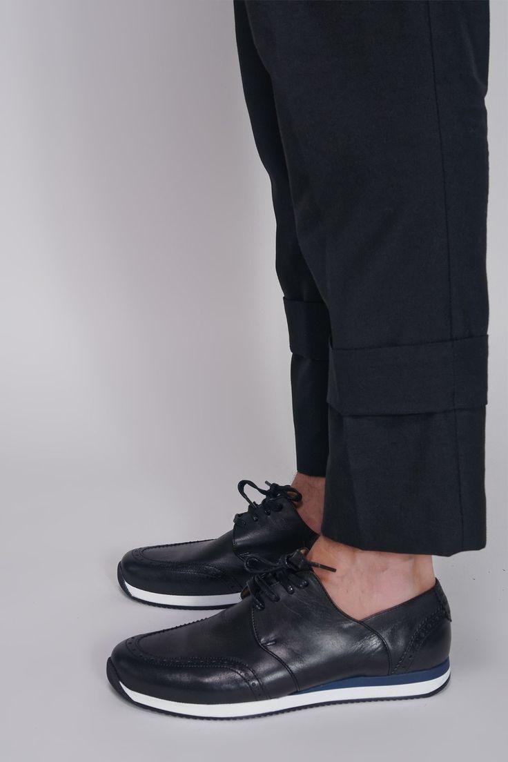 SOULLAND - DFA SNEAKER BLACK #men #fashion #shoes #black #soulland