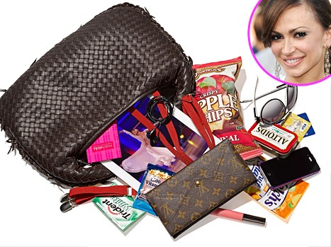 DWTS' Karina Smirnoff: What's in My Bag  CELEBRITY STYLE OCTOBER 26, 2011 AT 5:01PM BY USWEEKLY STAFF