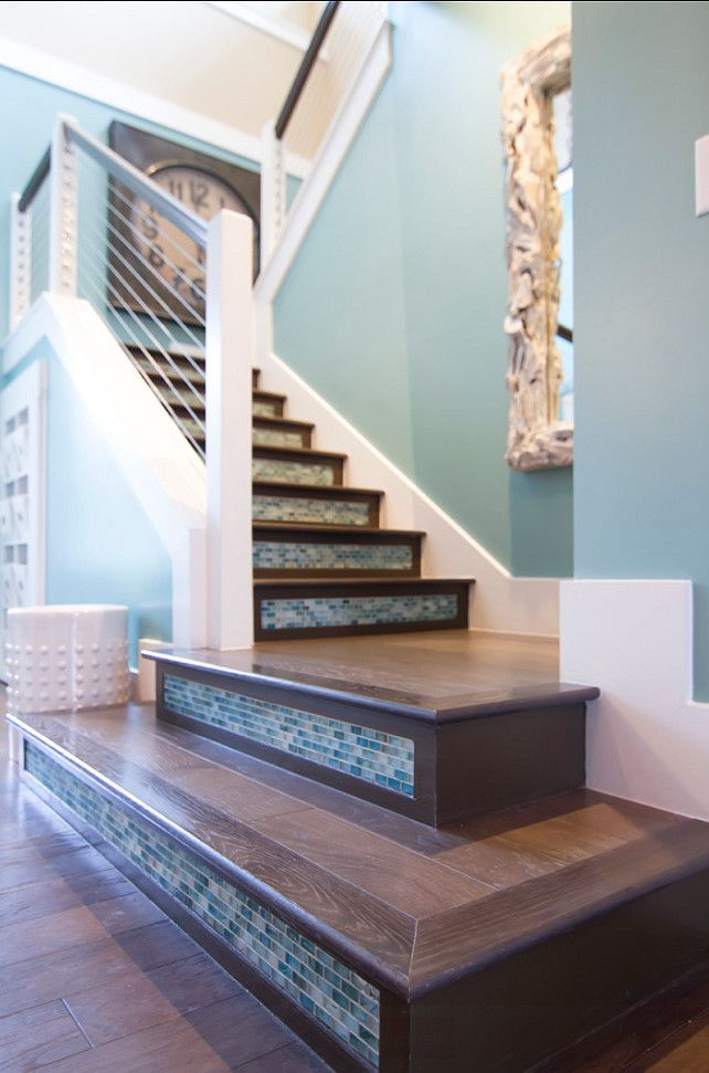 I Love This Detail On The Stairs Many Choices Can Be Made To Beautify Any Part Of Our Home Makeover Ideas In 2018 Pinterest House