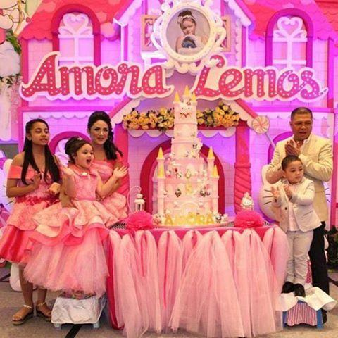 Krisdayanti dan Raul Lemos baru saja menggelar pesta ulang tahun Ariannha Amora ...