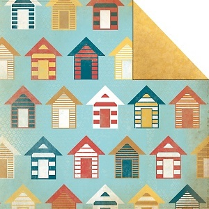 Kaisercraft Seaside 12 X Double Sided Paper