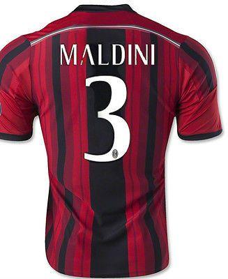 ADIDAS PAOLO MALDINI AC MILAN HOME JERSEY 2014/15.