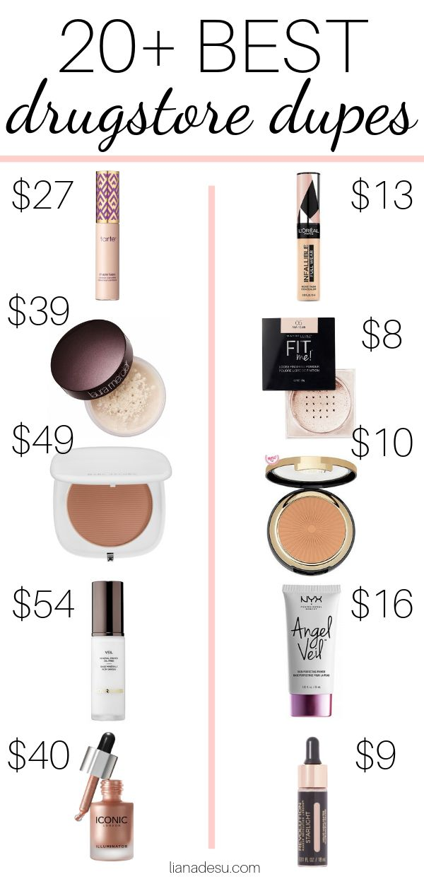 The ultimate list of the best drugstore makeup dupes! Save your money on makeup …