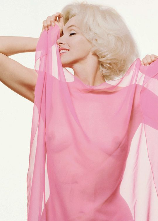 Marilyn Monroe photographed by Bert Stern, 1962