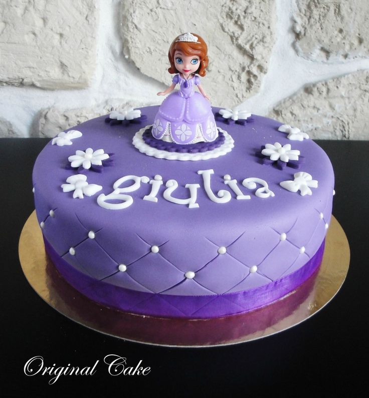 Gâteau Princesse Sofia \u2026 Anniversaire