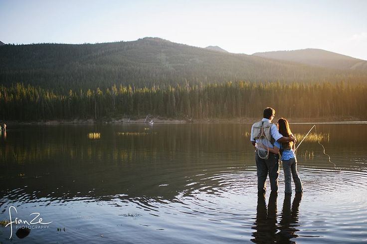 Fran Ze Photography | The couple that fly fishes together, stays together..