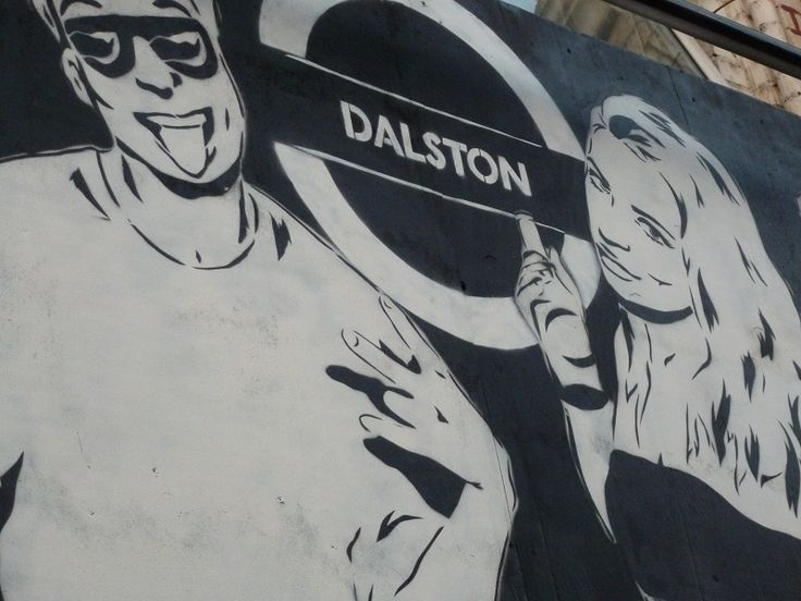 These days, Dalson is full of people looking just like this.  Really.  Dalston, east London June 2013