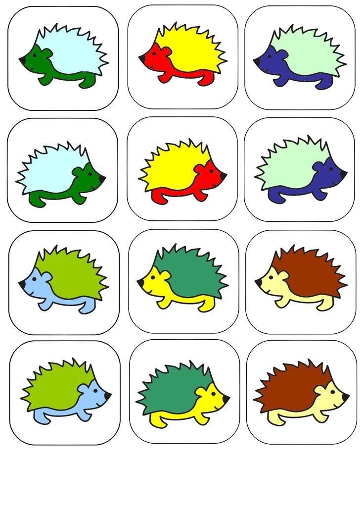 (2015-04) Spil med pindsvin i forskellige farvekombinationer
