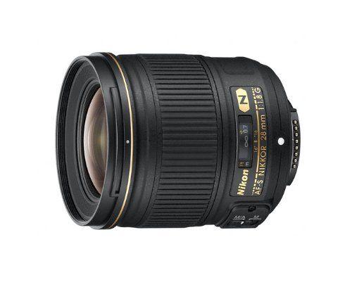 Nikon AF-S NIKKOR 28mm f/1.8G Objectif NoirAppareil Photo   Appareil Photo