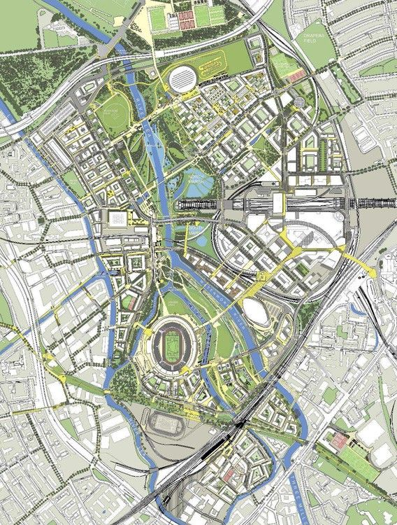 Plan Olympic Games 2012