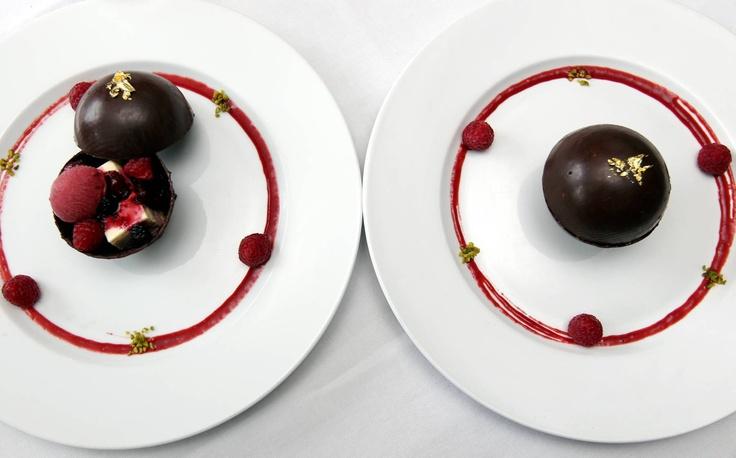 Nid d'Amour aux deux chocolats (St Valentin 2013)