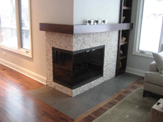 Corner Fireplace Designs Bing Images Farmhouse