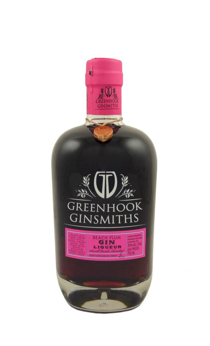 Made exclusively from local New York beach plums, this rare beauty is a seasonal treat with only 1,800 bottles produced.  Greenhook Gin is macerated for over six months with the whole plums and filtered prior to bottling. Deep berry and floral notes, a meaty texture on the palate, rich and delicious;  perfect for a champagne cocktail or anything with some fizz.