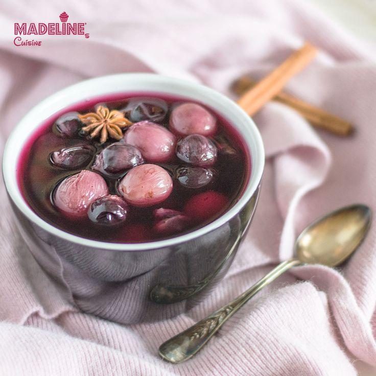 Compot aromat de struguri / Spiced grape compote