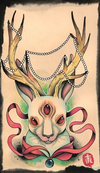 ... on Pinterest | Old school ink Zombie pin up and Zombie bunny