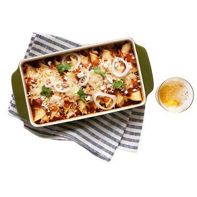Dinner, Solved: Spicy Chicken Enchiladas  - Redbook.com