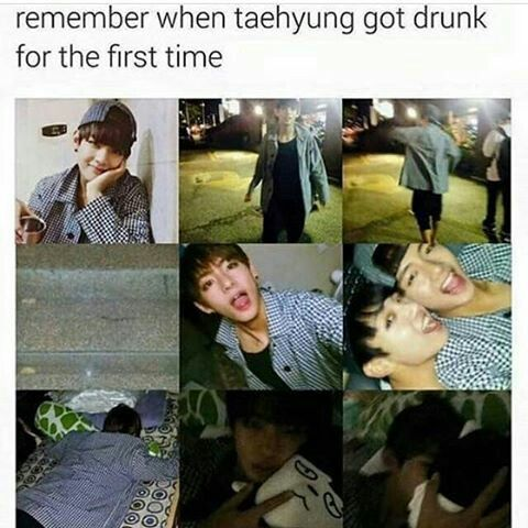 Drunk Tae is my aesthetic. But I'm glad he didn't really love the experience so hopefully he won't be becoming an alcoholic anytime soon