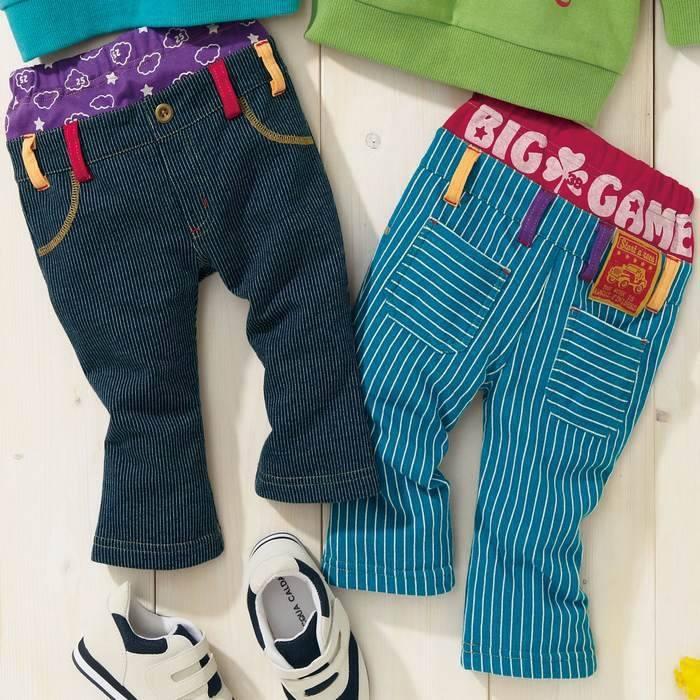 W792 Nissen Long Pants   Size: Waist Length Age 80: 16cm 41cm 6-12M 90: 17cm 45cm 1-2Y 100: 18cm 51cm 2-3Y 110: 19cm 55cm 3-4Y  Rp 70.000,-