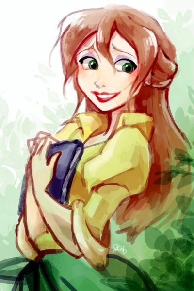 Jane Porter by ~godohelp on deviantART