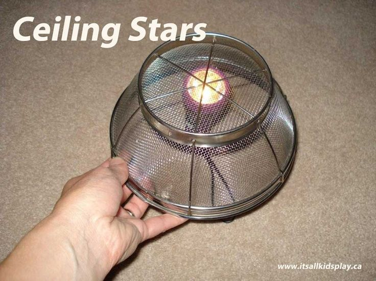 Doing a little indoor camping with the kids but still want to enjoy gazing at the stars? Got you covered! How to Make Ceiling Stars To make stars on your ceiling, you will need a dark room, flashli...