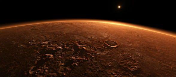 Curiosity demuestra que, bajo la superficie, el Planeta Rojo es en realidad azul, Marte no es rojo   3/03/15  Entre los últimos descubrimientos del explorador Curiosity, se encuentra el sorprendente hecho de que el Planeta Rojo es en realidad gris y azul bajo la superficie.  El astromóvil dirigido por la NASA ha comenzado a excavar en un sitio llamado Telegraph Peak, el tercer sitio de perforación en la base del monte Sharp, donde Curiosity ha estado trabajando durante los últimos cinco…
