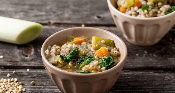 Zuppa di porri grano saraceno e costine.   #Star #ricette #ricettedastar #food #recipes #yummy #foodporn #delicious #foodie #eat #foodgasm #foodpic #cookin #zuppe #autumn #november #like #love