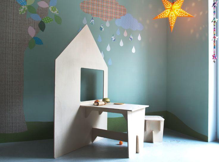 INKE houten speelhuis | Little Wannahaves Design uit Nederland!