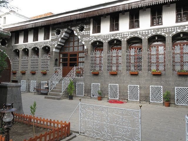 An ancient building in the southeast city of Diyarbakir. Turkey