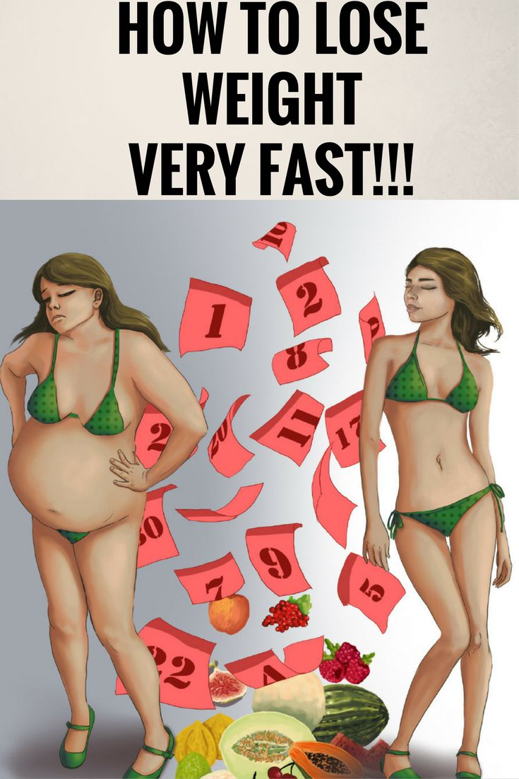 How to lose weight fast %,