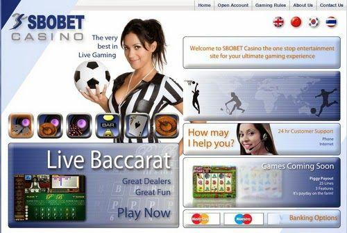 Agent Resmi Taruhan Judi Online Sbobet & Casino Aman Dan Terpercaya: 338A LIVE CASINO