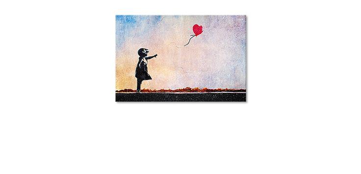 La toile imprimée Banksy No14