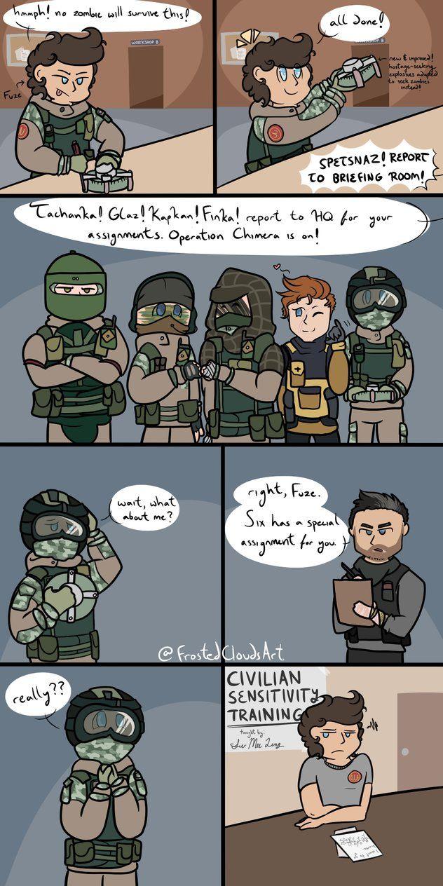 Rainbow Six Siege and its associated operators belong to