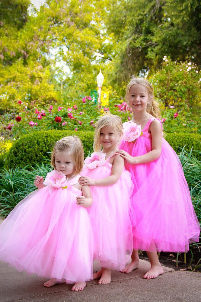 Flower Girl Dress for Wedding Tutu Dress And Birthday Girl Party Costumes  #CompleteCostume: