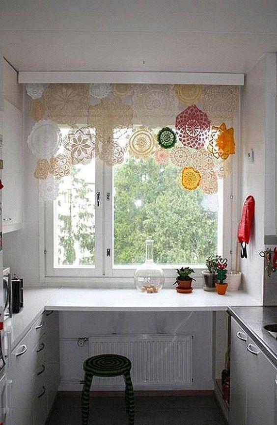 Mutfağınız Canlanıyor: Muhteşem Mutfak Perde Modelleri: