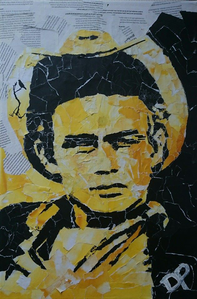 James Dean by Don Pennings 40x60 cm