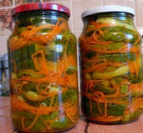 Салат из огурцов *Кореец* - Perchinka63