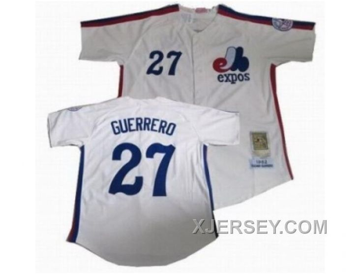 ness expos blank blue throwback stitched mlb jersey httpxjerseymlb montreal expos 27 vladimir guerre
