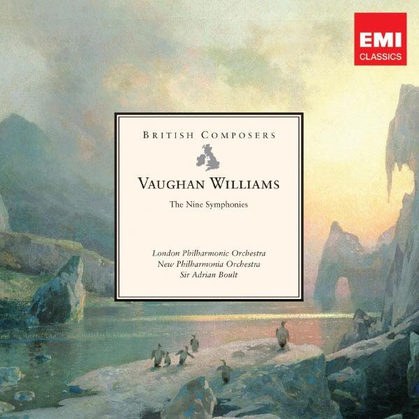 Vaughan Williams : The Nine Symphonies Sir Adrian Boult